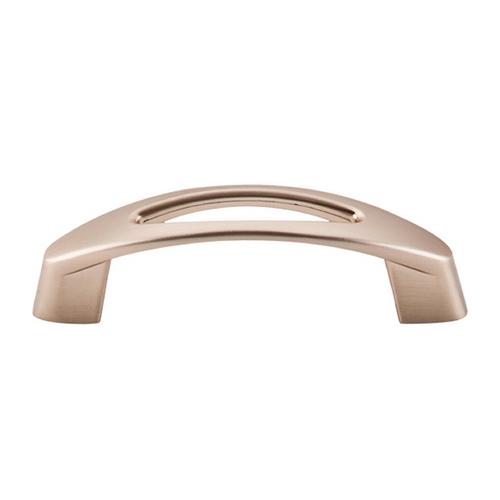 Top Knobs Hardware Modern Cabinet Pull in Brushed Bronze Finish M1772