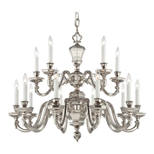 Metropolitan Lighting Chandelier in Polished Nickel Finish N1117-613