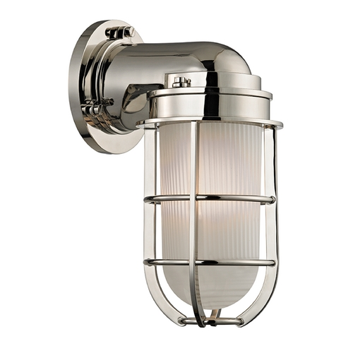 Hudson Valley Lighting Hudson Valley Lighting Carson Polished Nickel Sconce 240-PN