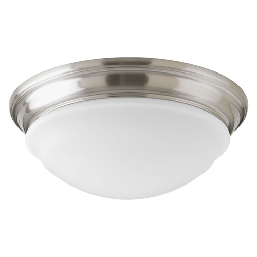 Progress Lighting Progress Lighting LED Flush Mount Brushed Nickel LED Flushmount Light P2301-0930K9