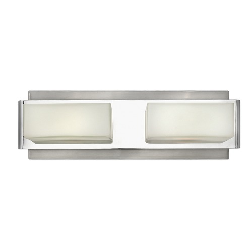 Hinkley Lighting Hinkley Lighting Domino Brushed Nickel Bathroom Light 56422BN