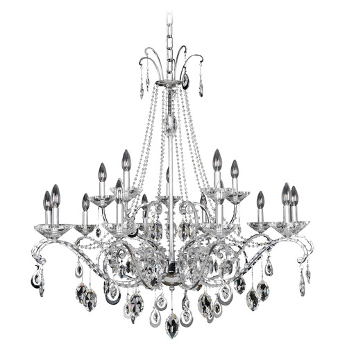Allegri Lighting Torrelli 15 Light Crystal Chandelier 023552-010-FR001