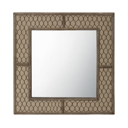 Dimond Lighting Canvas Wire Mirror 594036
