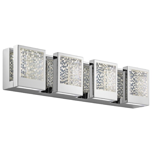 Elan Lighting Elan Lighting Pandora Chrome LED Bathroom Light 83727
