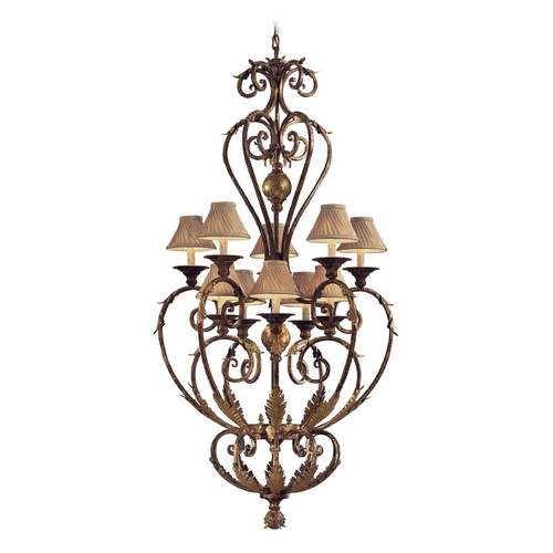 Metropolitan Lighting Chandelier in Golden Bronze Finish N3643-355