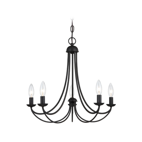 Quoizel Lighting Mini-Chandelier in Imperial Bronze Finish MRN5005IB