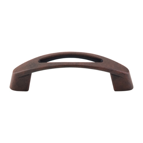 Top Knobs Hardware Modern Cabinet Pull in Patina Rouge Finish M1773