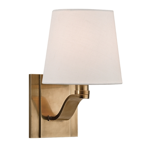 Hudson Valley Lighting Hudson Valley Lighting Clayton Aged Brass Sconce 2461-AGB