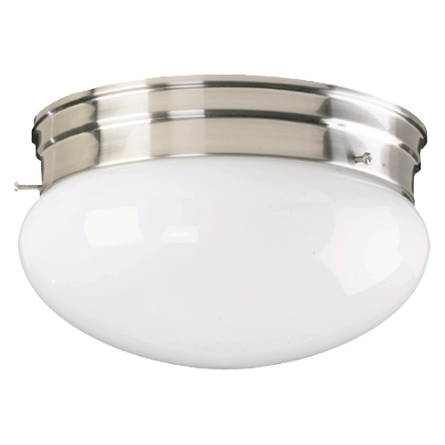 Quorum Lighting Quorum Lighting Satin Nickel Flushmount Light 3015-6-65