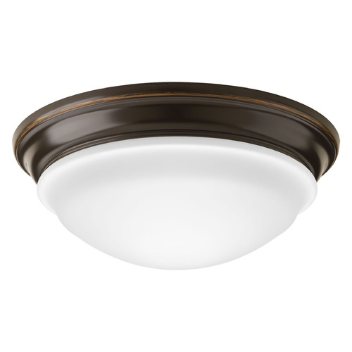 Progress Lighting Progress Lighting LED Flush Mount Antique Bronze LED Flushmount Light P2301-2030K9