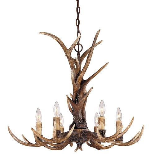Savoy House Savoy House Rustic Antler Chandelier 1-40017-6-56