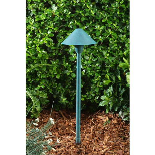 Dabmar Lighting Acid Green Brass Path/Walkway/Area Light LV41-AG