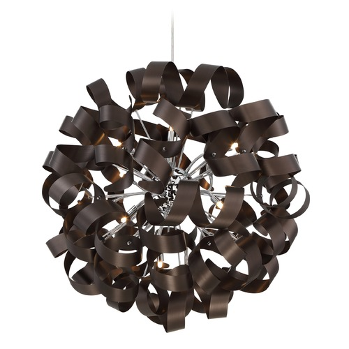 Quoizel Lighting Quoizel Ribbons Western Bronze Pendant Light RBN2831WT