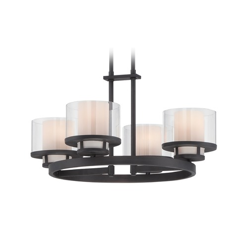 Designers Fountain Lighting Designers Fountain Fusion Biscayne Bronze Chandelier 86184-BBR