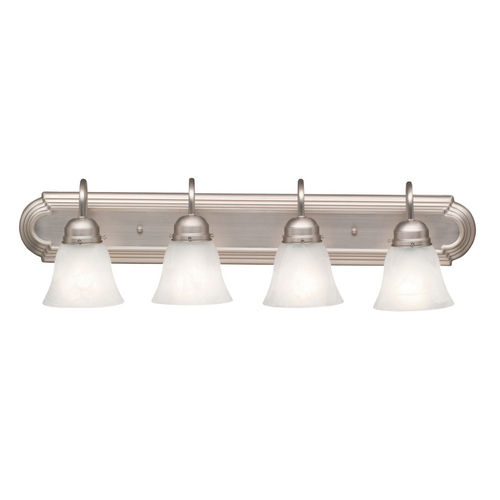 Kichler Lighting Kichler Bathroom Light in Brushed Nickel Finish 5338NI