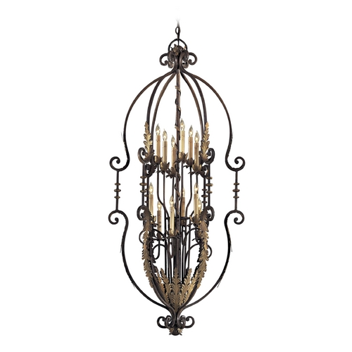 Metropolitan Lighting Chandelier in Amandari Finish N3644-362