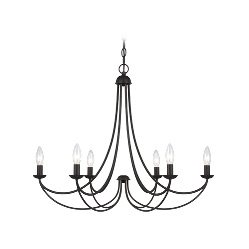 Quoizel Lighting Chandelier in Imperial Bronze Finish MRN5006IB