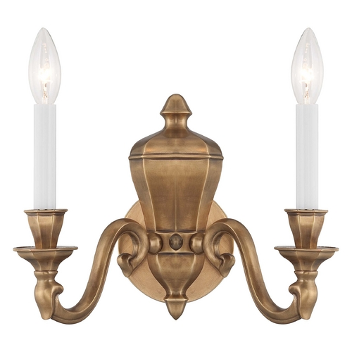 Metropolitan Lighting Sconce Wall Light in Vintage English Patina Finish N1118-046
