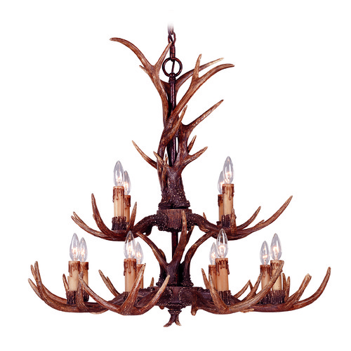 Savoy House Savoy House Lighting Blue Ridge New Tortoise Shell Chandelier 1-40025-12-56