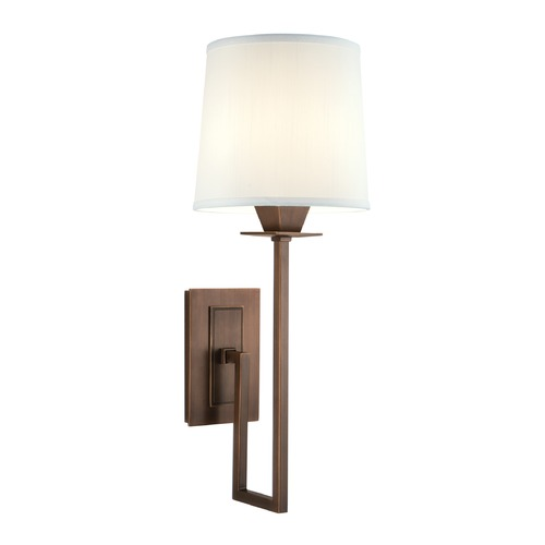 Norwell Lighting Norwell Lighting Maya Architectural Bronze Sconce 9675-AR-WS
