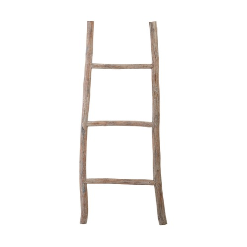 Dimond Home Wood White Washed Ladder - Small 594038