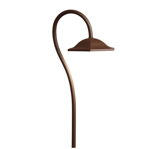 Kichler Lighting Kichler Lighting Bronzed Brass LED Path Light 15807BBR27R