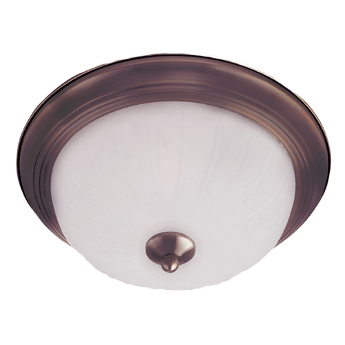 Maxim Lighting Maxim Lighting Essentials Oil Rubbed Bronze Flushmount Light 5830FTOI