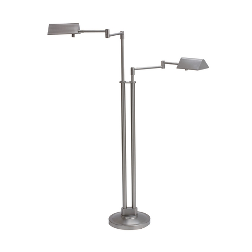 House of Troy Lighting Pharmacy Lamp in Satin Nickel Finish PIN400-2-SN
