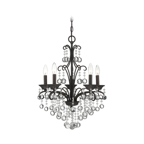 Quoizel Lighting Mini-Chandelier in French Bronze Finish QMC1199FR