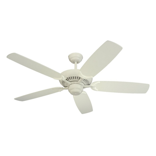 Monte Carlo Fans Ceiling Fan Without Light in White Finish 5CO52WH