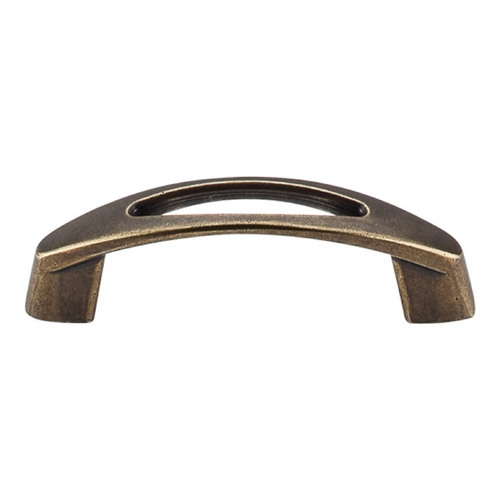 Top Knobs Hardware Modern Cabinet Pull in German Bronze Finish M1775