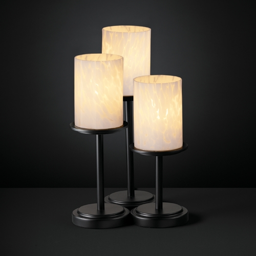 Justice Design Group Justice Design Group Fusion Collection Table Lamp FSN-8797-10-DROP-MBLK