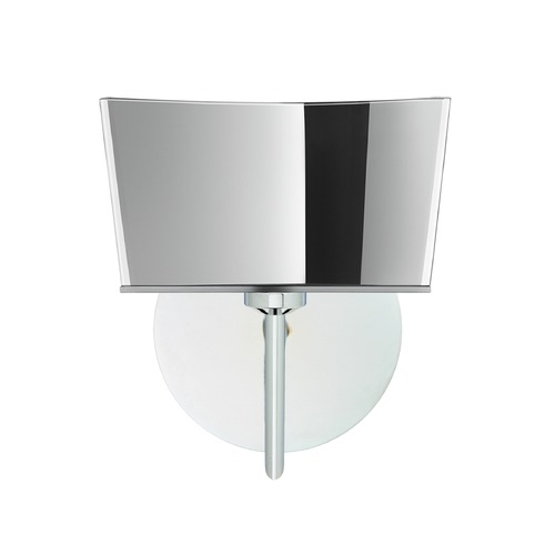 Besa Lighting Besa Lighting Groove Chrome Sconce 1SW-6773MR-CR