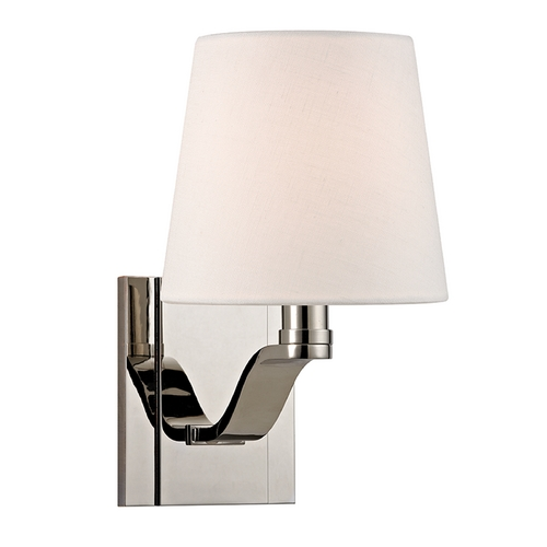 Hudson Valley Lighting Hudson Valley Lighting Clayton Polished Nickel Sconce 2461-PN