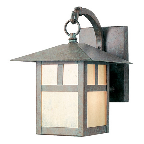 Livex Lighting Livex Lighting Montclair Mission Verde Patina Outdoor Wall Light 2131-16