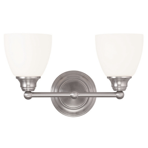 Livex Lighting Livex Lighting Somerville Brushed Nickel Bathroom Light 13662-91