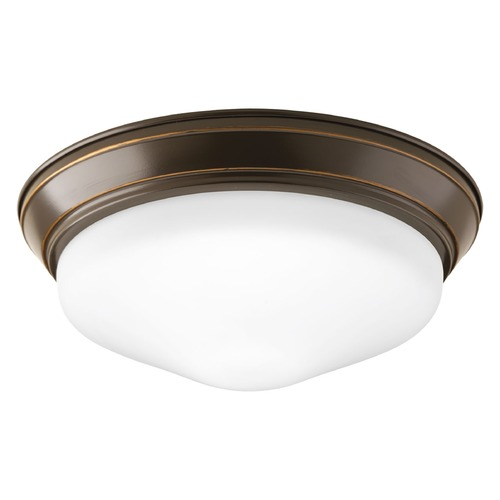 Progress Lighting Progress Lighting LED Flush Mount Antique Bronze LED Flushmount Light P2302-2030K9