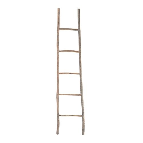 Elk Lighting Wood White Washed Ladder - Large 594039
