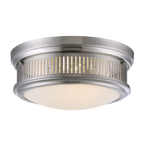 Savoy House Savoy House Lighting Sanford Satin Nickel Flushmount Light 6-3360-13-SN