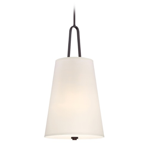 Designers Fountain Lighting Designers Fountain Studio Satin Bronze Pendant Light with Empire Shade 88553-SB