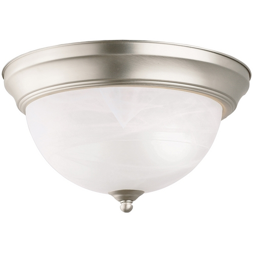 Kichler Lighting Kichler Flushmount Light in Brushed Nickel Finish 8108NI