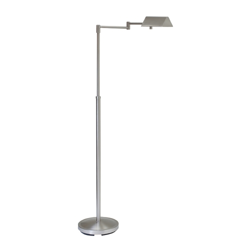 House of Troy Lighting Pharmacy Lamp in Satin Nickel Finish PIN400-SN