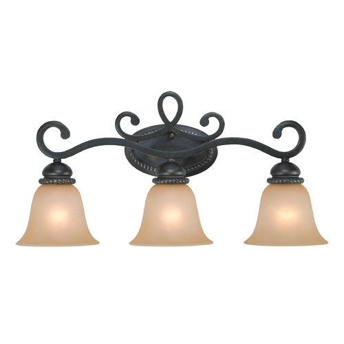 Craftmade Lighting Craftmade Highland Place Mocha Bronze Bathroom Light 25203-MB