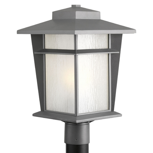 Progress Lighting Progress Lighting Loyal Textured Graphite Post Light P6421-136WB