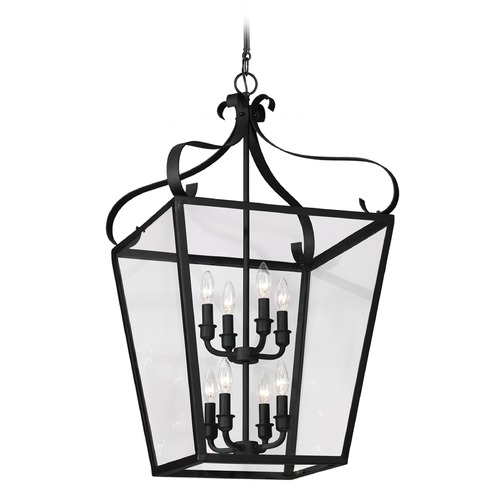 Sea Gull Lighting Sea Gull Lighting Lockheart Blacksmith Pendant Light with Square Shade 5119408-839