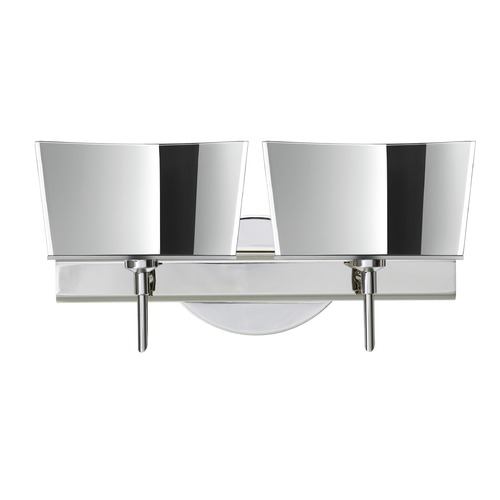 Besa Lighting Besa Lighting Groove Chrome Bathroom Light 2SW-6773MR-CR