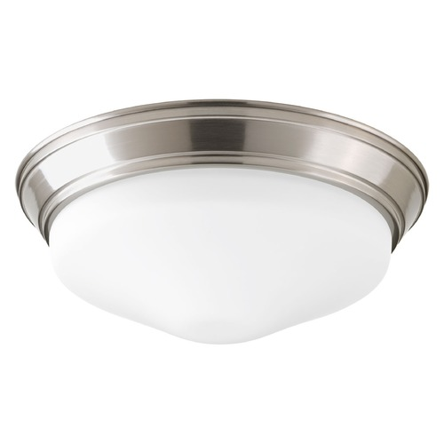 Progress Lighting Progress Lighting LED Flush Mount Brushed Nickel LED Flushmount Light P2303-0930K9
