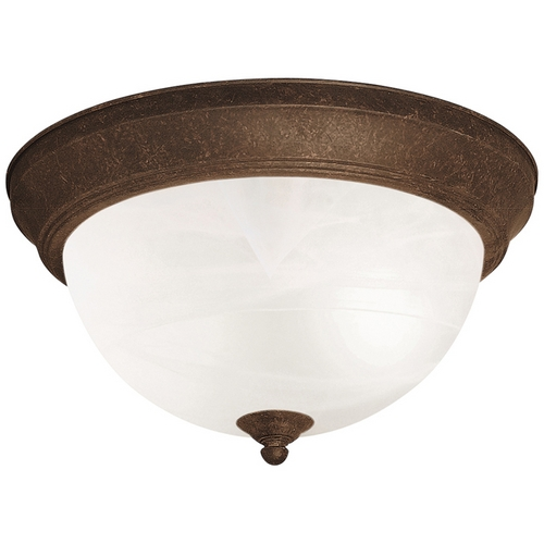 Kichler Lighting Kichler Flushmount Light in Tannery Bronze Finish 8108TZ