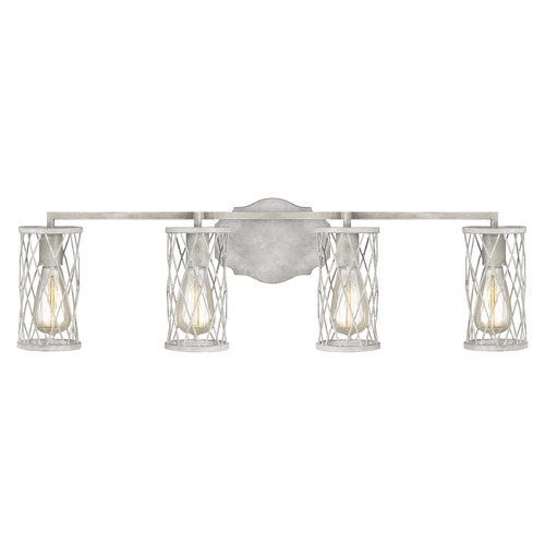 Feiss Lighting Feiss Lighting Cosette French Washed Oak / Distressed White Wood Bathroom Light VS2484FWO/DWW