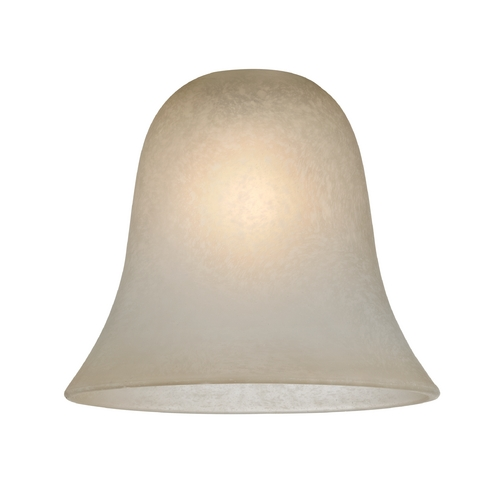 Design Classics Lighting Bell Glass Shade - Lipless with 1-5/8-Inch Fitter Opening GL9222-CAR